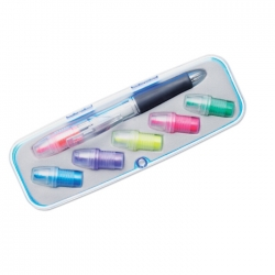 Interchangeable head ball pen