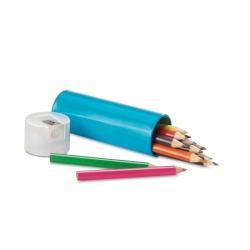 12 colour pencil in tin box