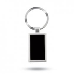 Metal key ring in aluminium