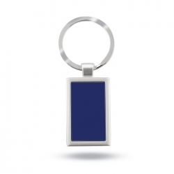 Metal key ring in aluminium