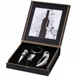 4 piece wine set