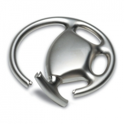 Metal key ring wheel shape