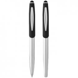 Geneva stylus ballpoint pen and rollerball pen gift set