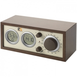 Classic radio with thermometer