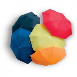 Foldable umbrella in PVC pouch