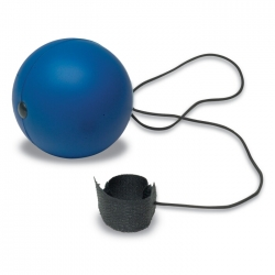 Anti-stress ball with cord