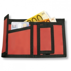 Bright coloured wallet