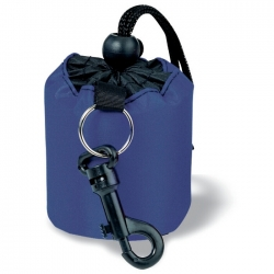 Mini-duffle bag keyring