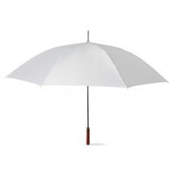 Golf umbrella with wooden grip