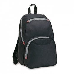 Backpack with outside pockets
