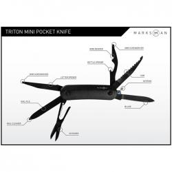 Triton mini pocket knife