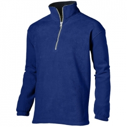 """Taos"" quarter zip fleece sweater"
