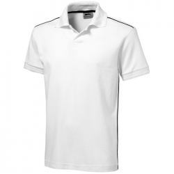 """Backhand"" Polo"