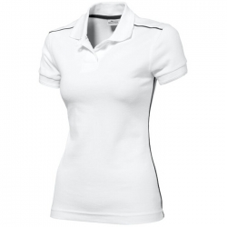 Backhand ladies polo