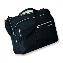 Conference bag with strap