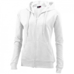 """Utah"" Hooded Full zip Ladies sweater"