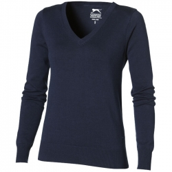 """Tie breaker"" v-neck ladies pullover"