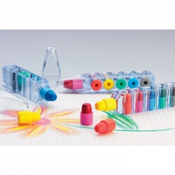 Set of 6 wax crayons