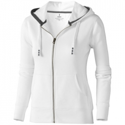 """Arora"" hooded full zip ladies sweater"