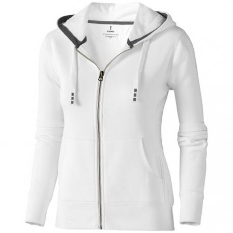 Arora hooded full zip ladies sweater