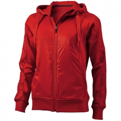 """Fraser"" ladies hooded full zip sweater"