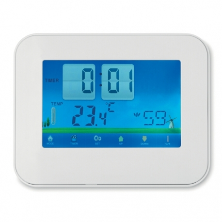 Weather station touch screen