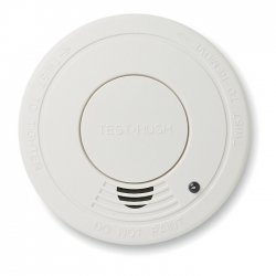 Smoke detector with HUSH feature