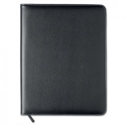 Pu portfolio A4 with tablet holder