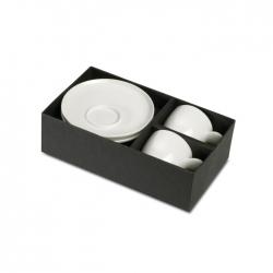 Coffee set in carton gift box