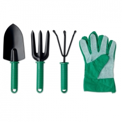 Set of 4 garden tools