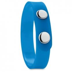 PVC snap button bracelet