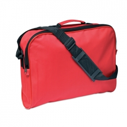 Document bag with shoulder strap