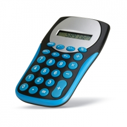 Calculator with contrast keypads