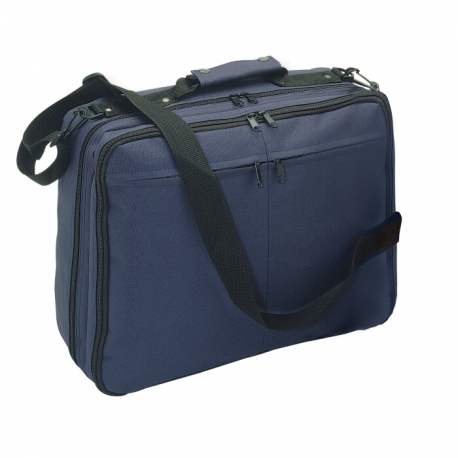 Briefcase with compartments