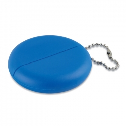 Coin purse in PVC with chain