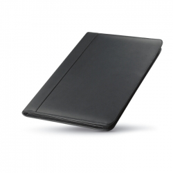 A4 bonded-leather portfolio