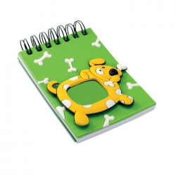 PVC notebook w photo frame