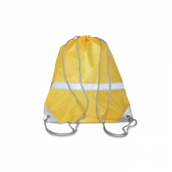 Duffle bag with reflective band