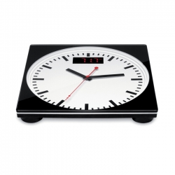 Personal scale analog clock