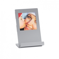 Phone stand with photo frame