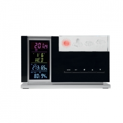 Weather station with sensor