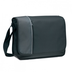 2 tones polyester document bag