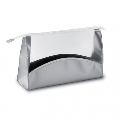 PVC free clear cosmetic pouch