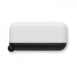 Screen cleaner with silicone tip