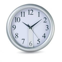 Wall clock with easyprint dial