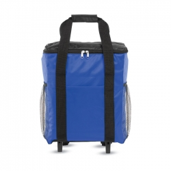 Foldable cooler trolley