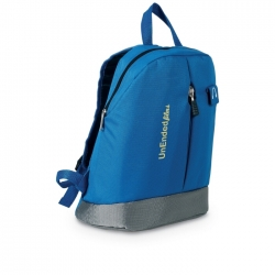 Backpack with discman pocket