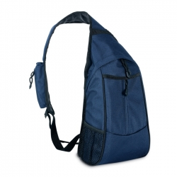 City backpack with one strap