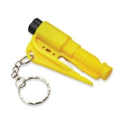 Safety tool key ring