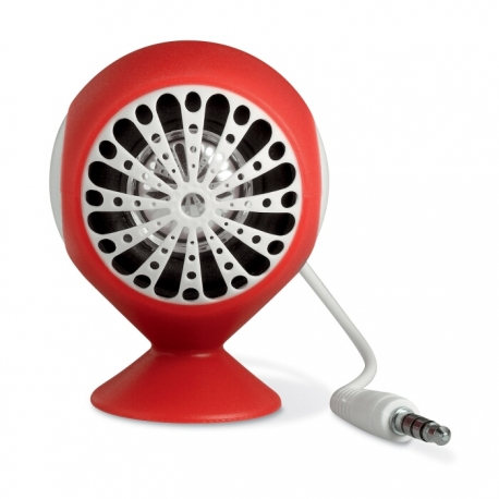 Speaker with suction cup